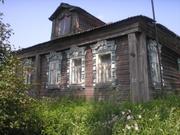 Старый Дом в Деревне с Храмом по Ярославскому шоссе