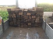 Шпалы деревянные бу пропитанные старогоднии